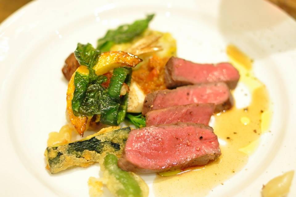 土佐赤牛 長時間ロースト ジュドブフ たっぷりの夏野菜とともに