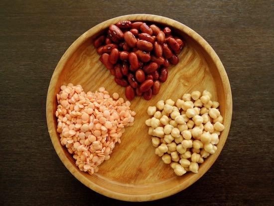 3種の豆 ランティユ ポアシッシュアシッシュ アリコルージュ